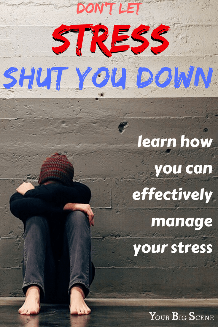Don't let stress shut you down! Learn how to effectively deal with stress in any situation.