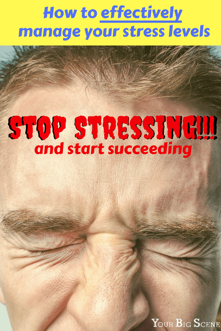 Stop stressing and start succeeding! Learn how you can effectively manage you stress at any level.