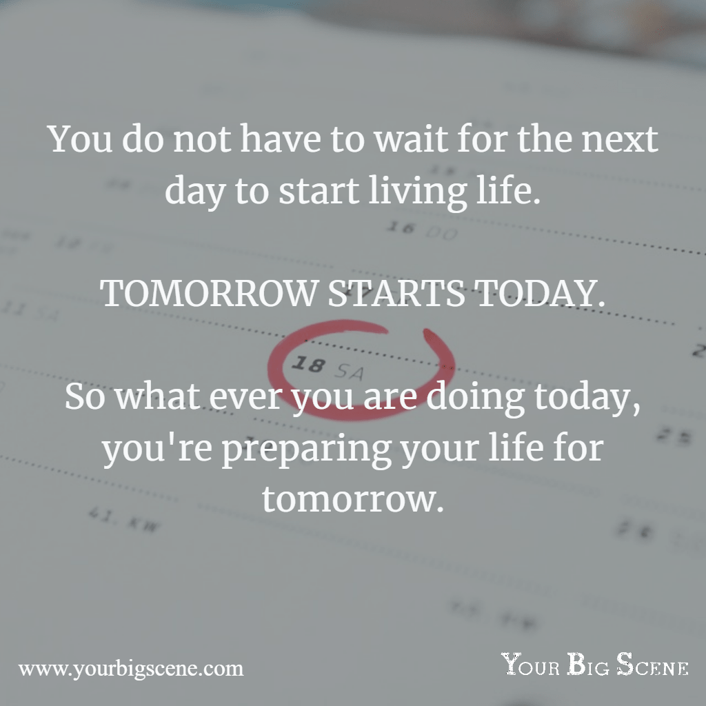 The key to having a more productive day is being prepared a day early. Start getting ready for tomorrow today.