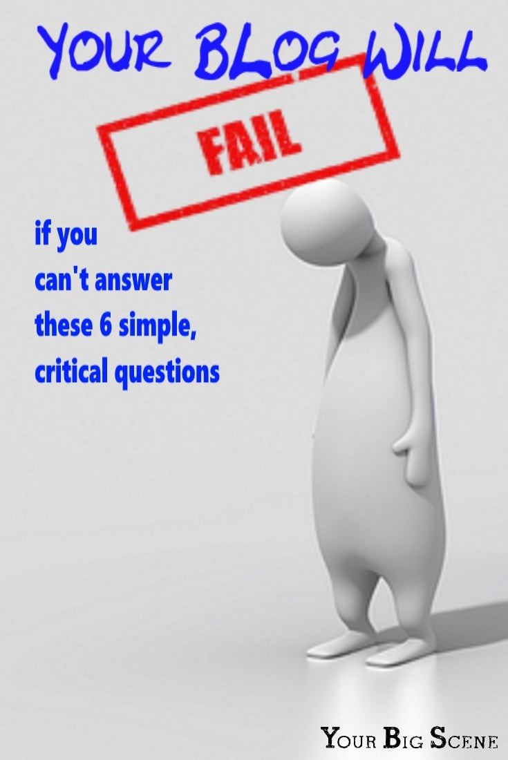 your blog will fail if you can't answer these 6 simple questions