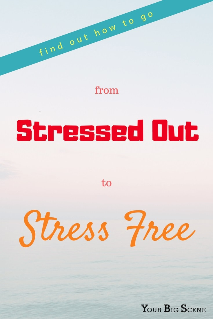 Feeling a little stressed out? Find out how you can go from stressed out to stress free.